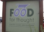 Food For Thought, Sonoma County Aids Food Bank, Forestville, California
