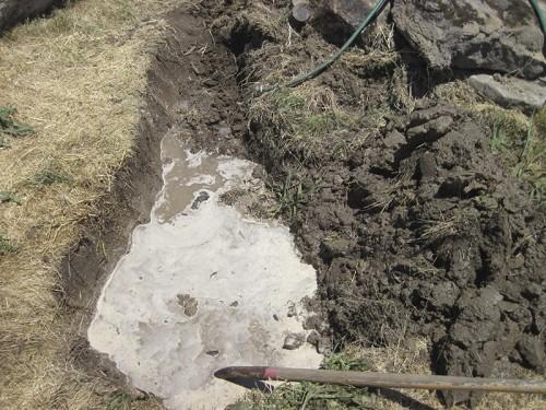 underwater mud is slow digging